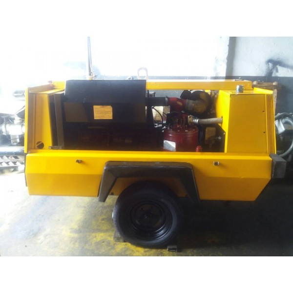 COMPRESOR ATLAS COPCO 50HP PORTATIL